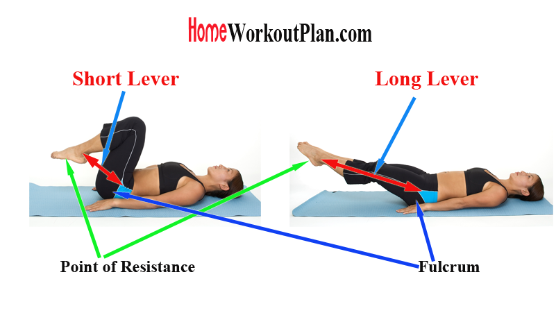 Lever Lifts Exercise : Lower abs workout progression